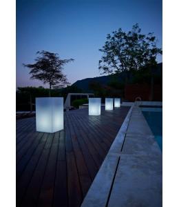 Maceta lámpara Kube High Light